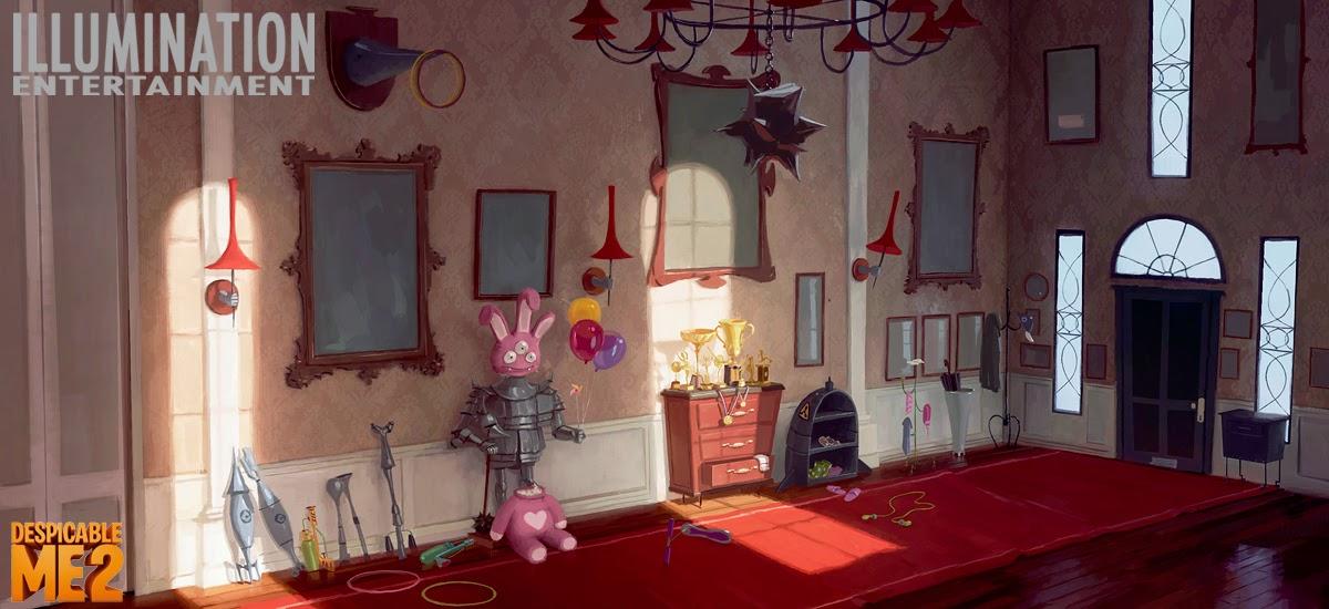 Art Of Clement Griselain Despicable Me 2 Sets Colors