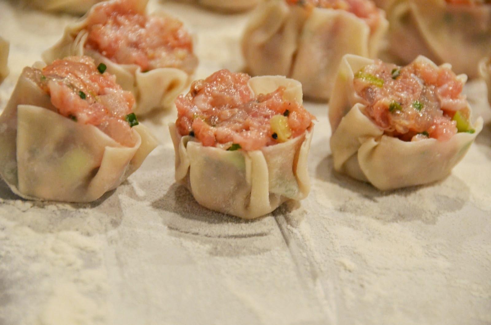 ShuMai Dumplings   Cheesy Pennies