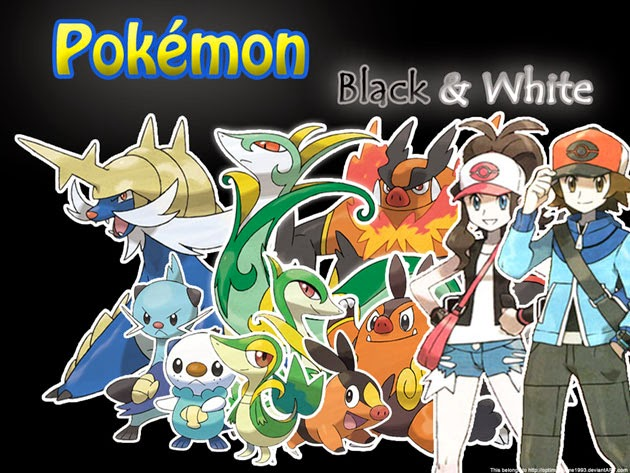 Pokemon Black And White PC Game Free Download