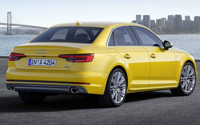 2016 all new Audi A4