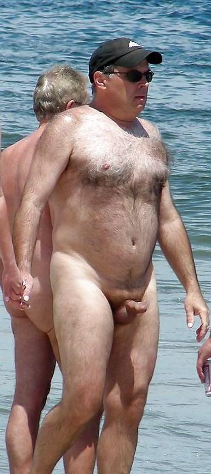 nude beach dad