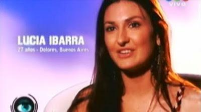 Lucia Ibarra Gran Hermano 2012 fotos y Twitter (GH 2012).