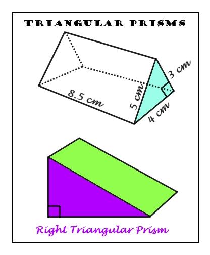 surface area of triangular prism worksheet of a triangular prism one. Black Bedroom Furniture Sets. Home Design Ideas
