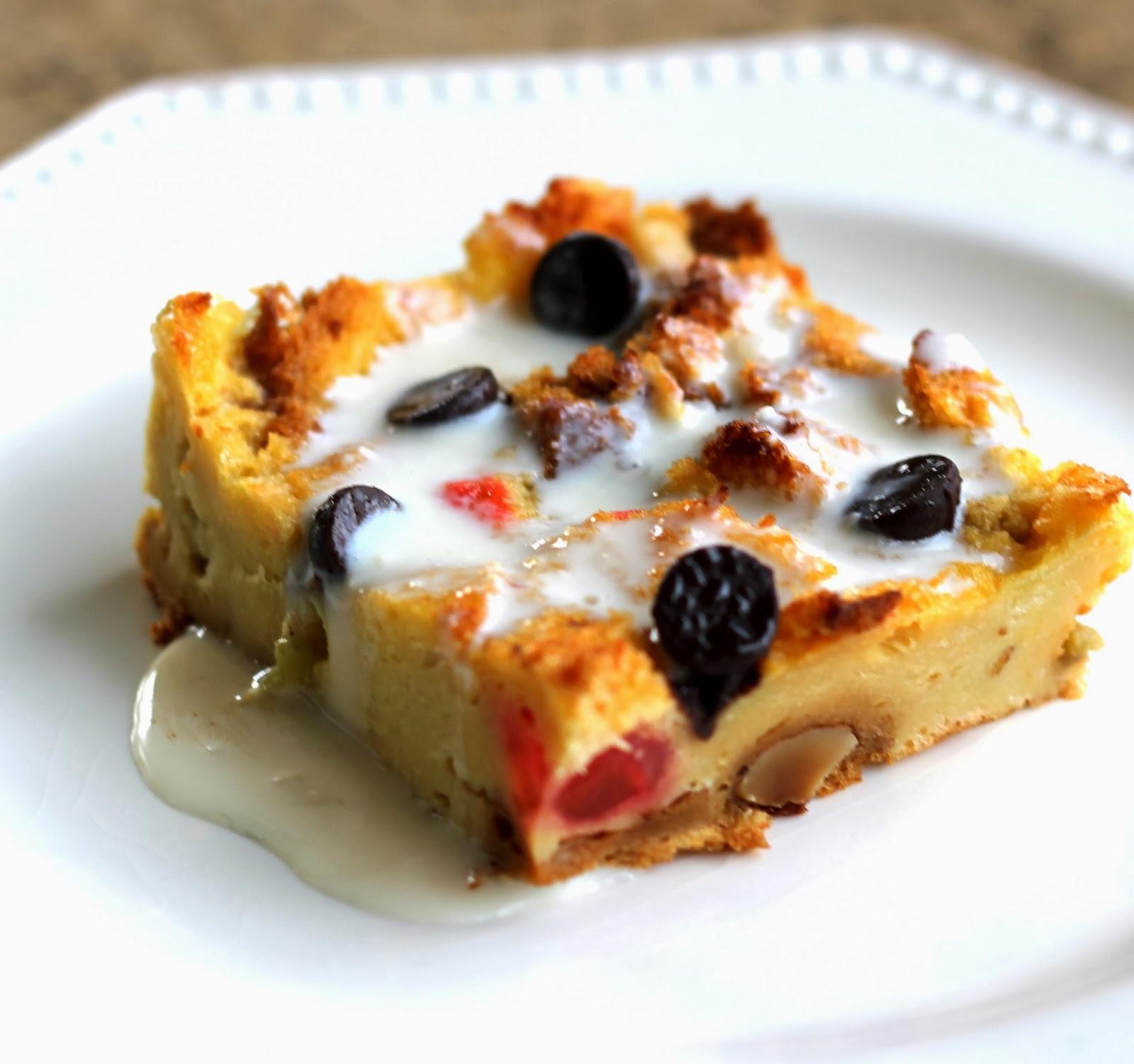 beurrista: waste not... panettone bread pudding with amaretto cream ...