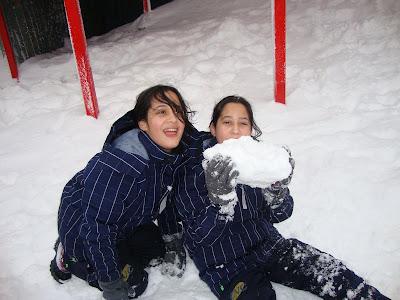 Muita neve no Cerro Otto em Bariloche