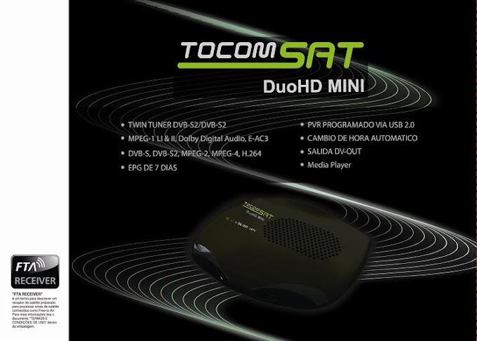 Tocomsat DuoHD Mini - Atualização v3.06 de 26/11/2012