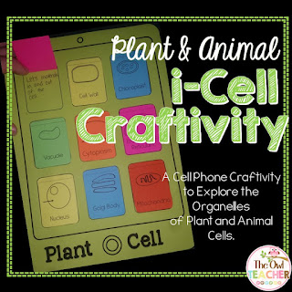 https://www.teacherspayteachers.com/Product/Plant-and-Animal-Cell-i-Cell-craftivity-2100464