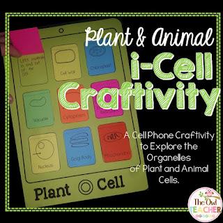 https://www.teacherspayteachers.com/Product/Plant-and-Animal-Cell-i-Cell-craftivity-2100464