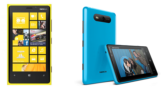 Lumia 920 and 820 price