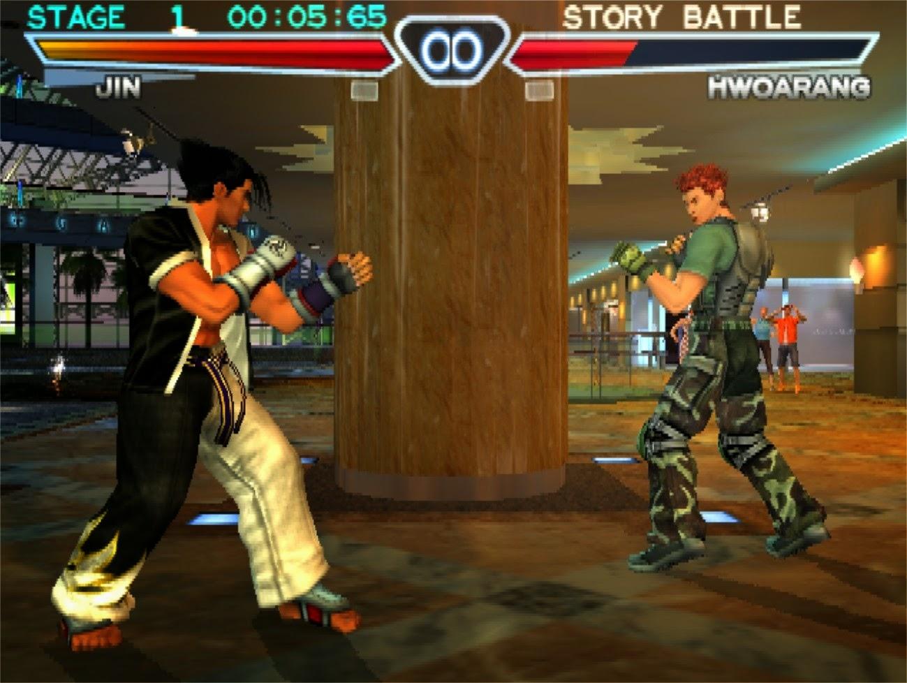 Namco Present Tekken 4 PC Game