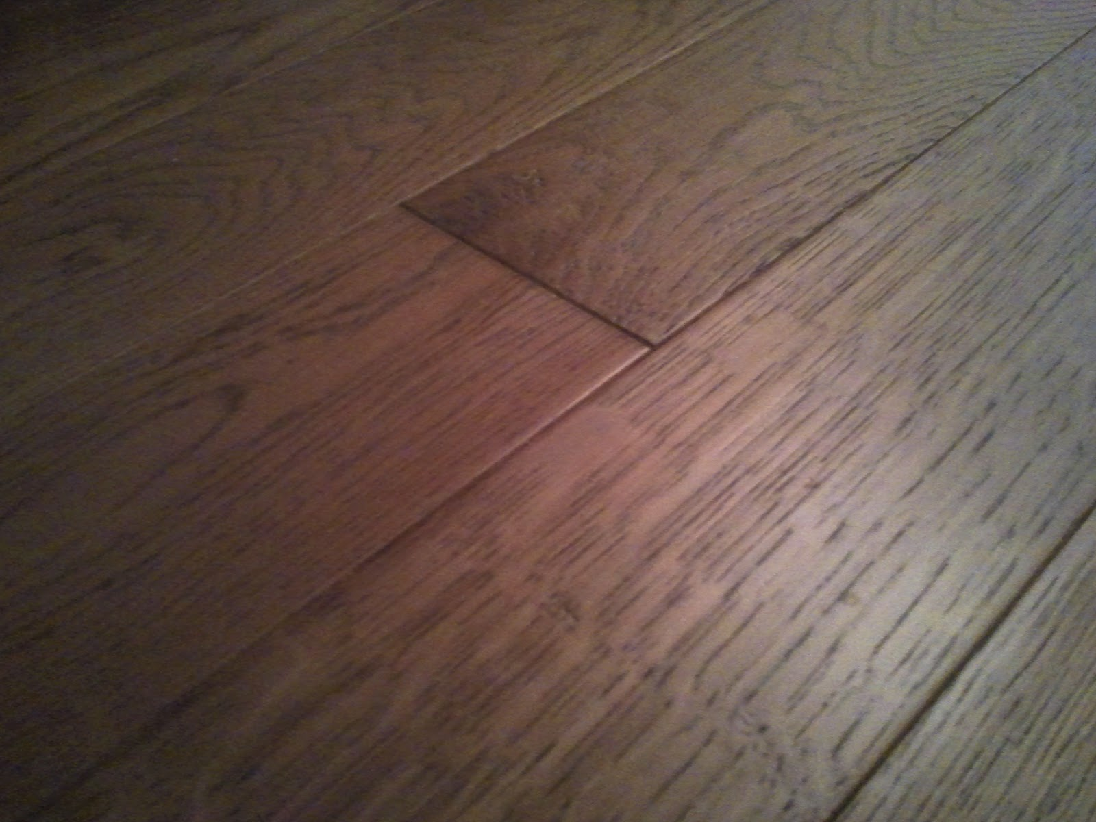 Solid Easy-Fit oak caramel wood floor review.