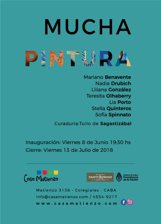 EXPOSICION ACTUAL: MUCHA PINTURA. Benavente | Drubich | González | Olhaberry | Porto | Quinteros