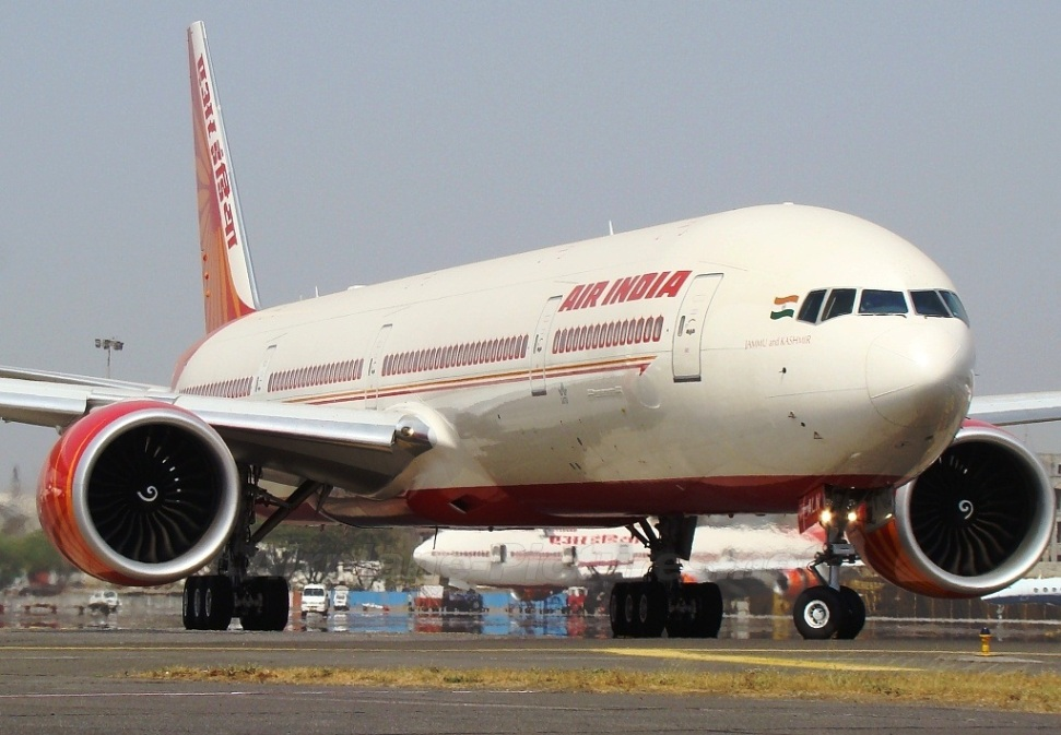 Download this Air India Plane Wallpaper picture