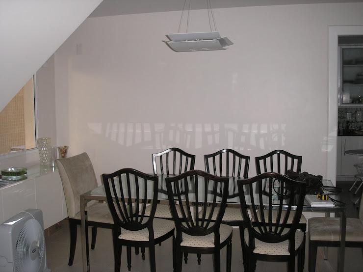 ANTES -Sala de jantar - Casa em Piatã - Antes da reforma