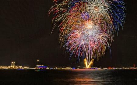 Bộ sưu tập hình nền pháo hoa đón năm mới dành cho desktop