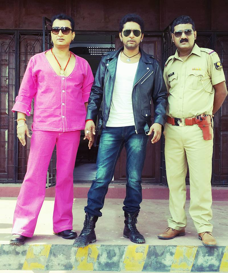 Yash Mishra and Awadhesh Mishra Shooting Images