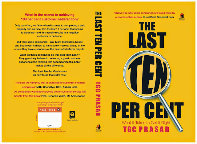 Book Review: The Last Ten Percent by TCG Prasad