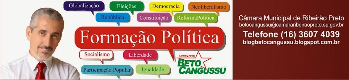 DEBATES POLÍTICOS BETO CANGUSSU