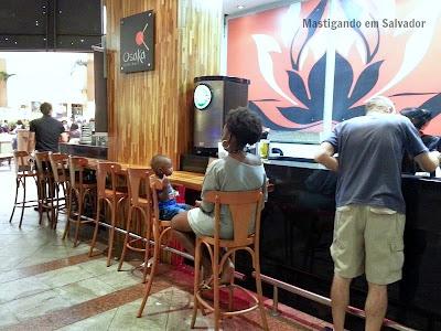 Osaka Sushi Bar: Parte lateral
