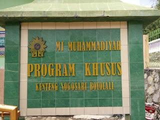Sekilas Tentang MI MUH PK Kenteng