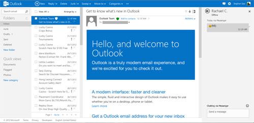 Situs Penyedia Layanan Membuat Email Outlook