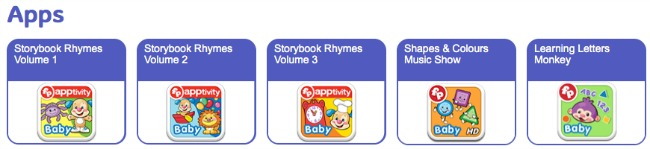 Fisher price online apps