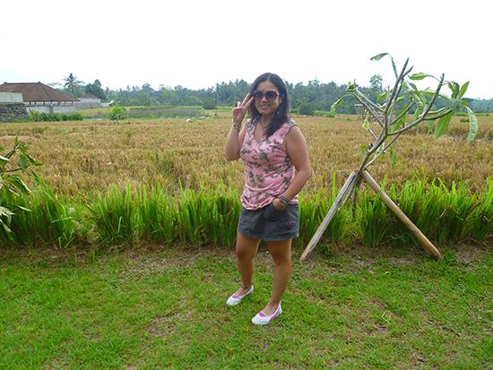 Sara en su país de nacimiento, Indonesia
