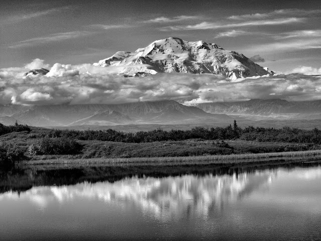 Mt. Denali - Reflection Pond, Denali National Park, Alaska, #Denali, #MtDenali, #MtMckinley, #ReflectionPond