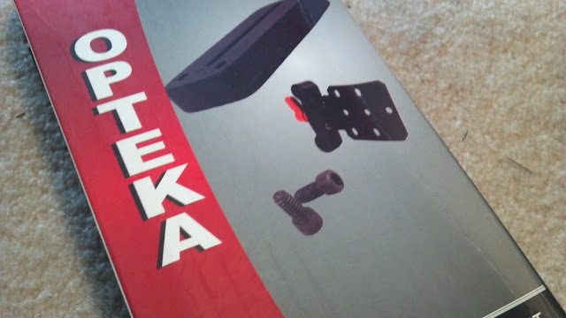 Building a DSLR cinema rig: Opteka counter weight for DSLR rigs