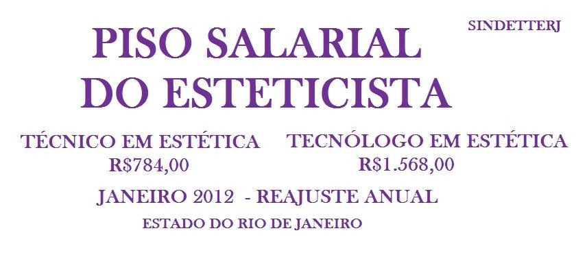 Piso Salarial Estadual Rj 2016   newhairstylesformen2014.com