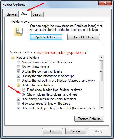 Mengganti View Settings Pada Komputer