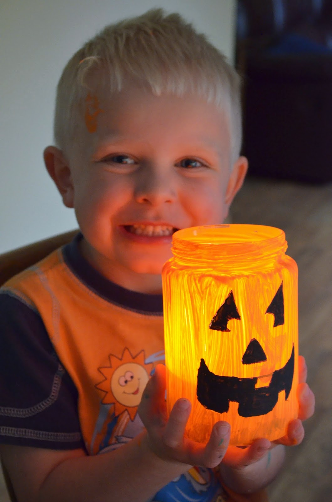 our beautiful mess: easy homemade luminaries for halloween