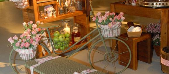 enfeite jardim bicicleta:Bicicleta na decoração!