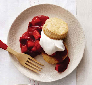 Ginger Strawberry Shortcakes