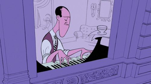 George Gershwin Rhapsody in Blue Fantasia 2000 1999 animatedfilmreviews.blogspot.com