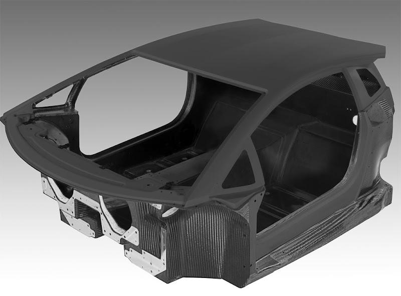 Monocoque Chassis Lamborghini Aventador