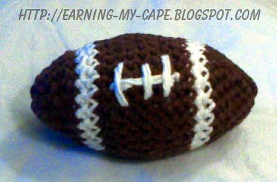 Oui Crochet: Little Crochet Football {Free Crochet Pattern}
