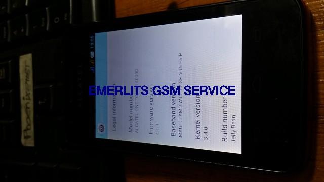 Alcatel OT 4030D Firmware ROM - Emerlits Gsm Service