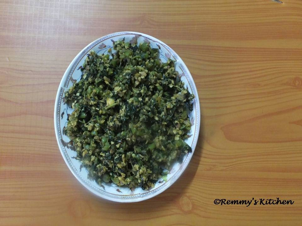 Cheera thoran/Spinach stir fry