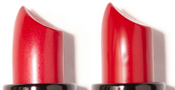 Collection Holiday 2012 de Makeup by Nicole Fae - Ravishing and Temptress lipsticks