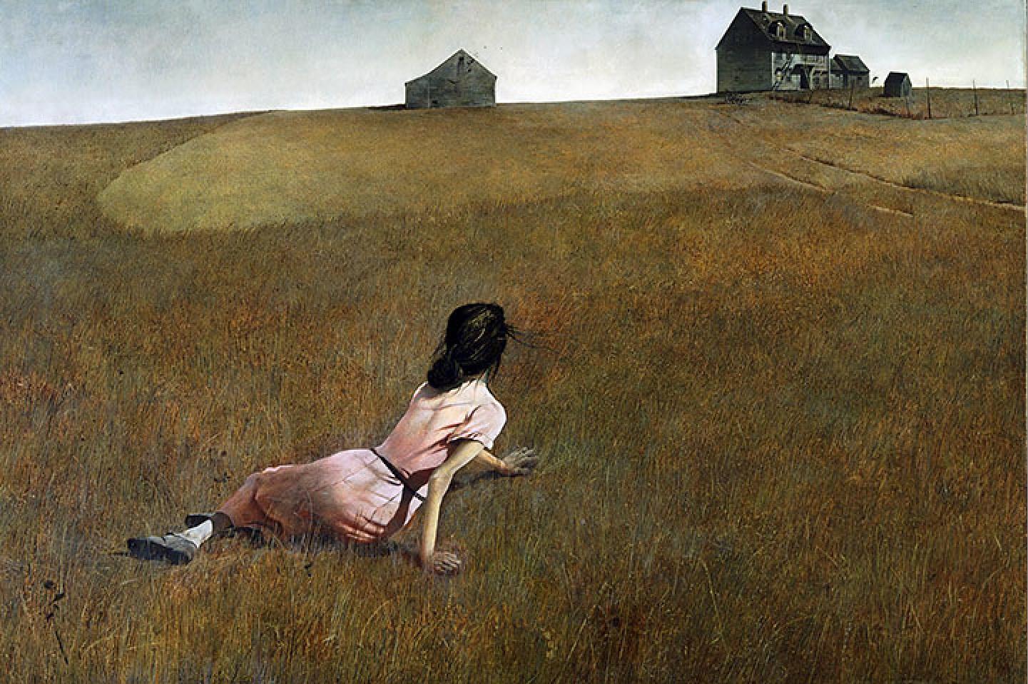 Desde el otro lado del cuadro: Christina\'s World - Andrew Wyeth
