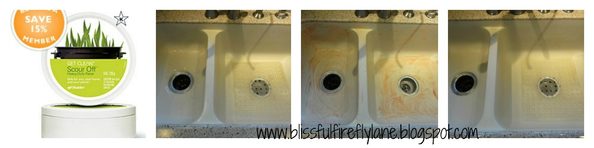 how to clean porcelain sink naturally