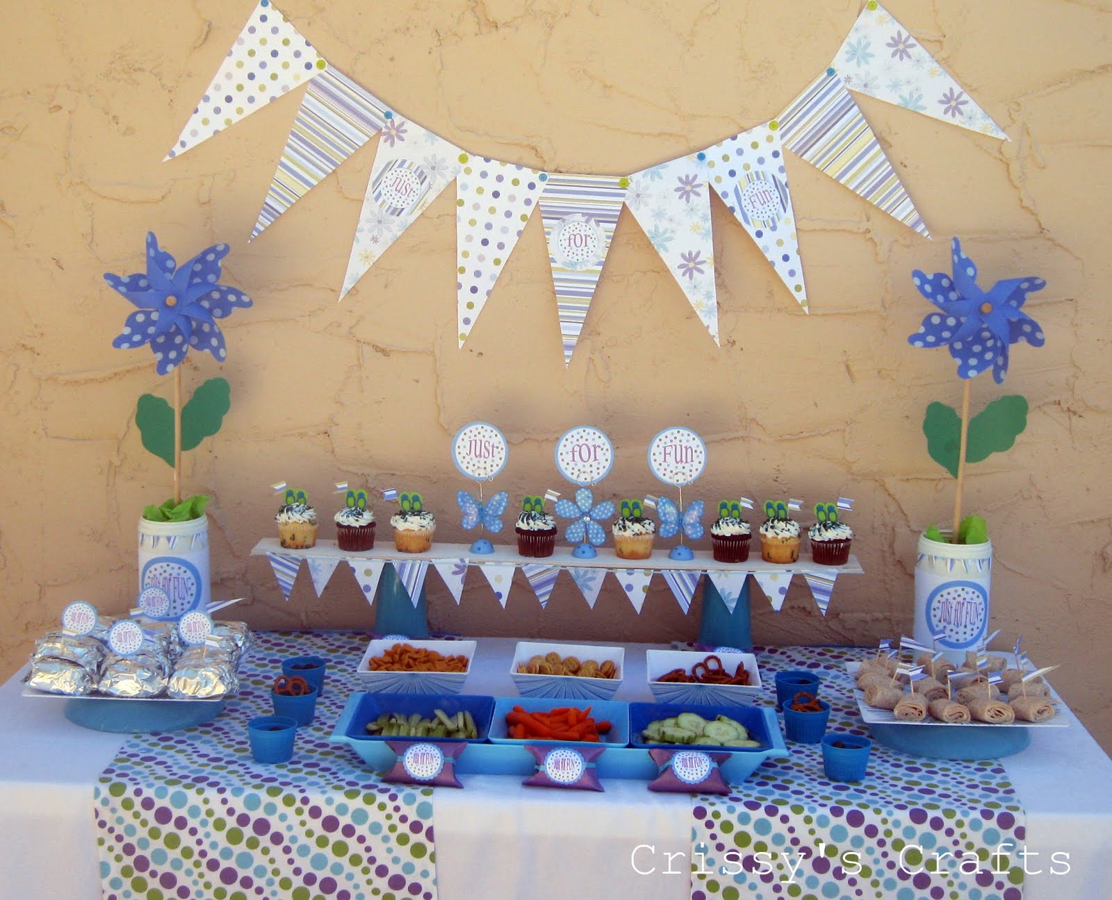 crissy u0027s crafts just for fun party