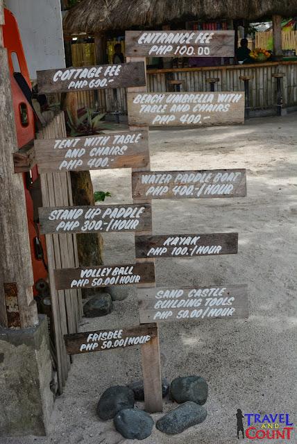 Pandan Island Rates, Palawan