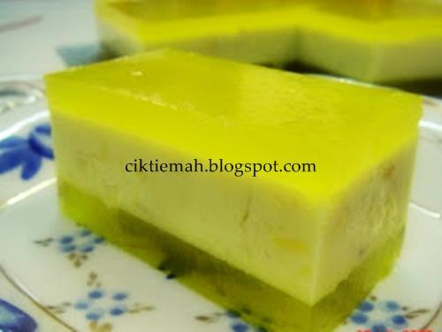 Resepi masakan Agar Agar Durian yang sedap dan mudah.