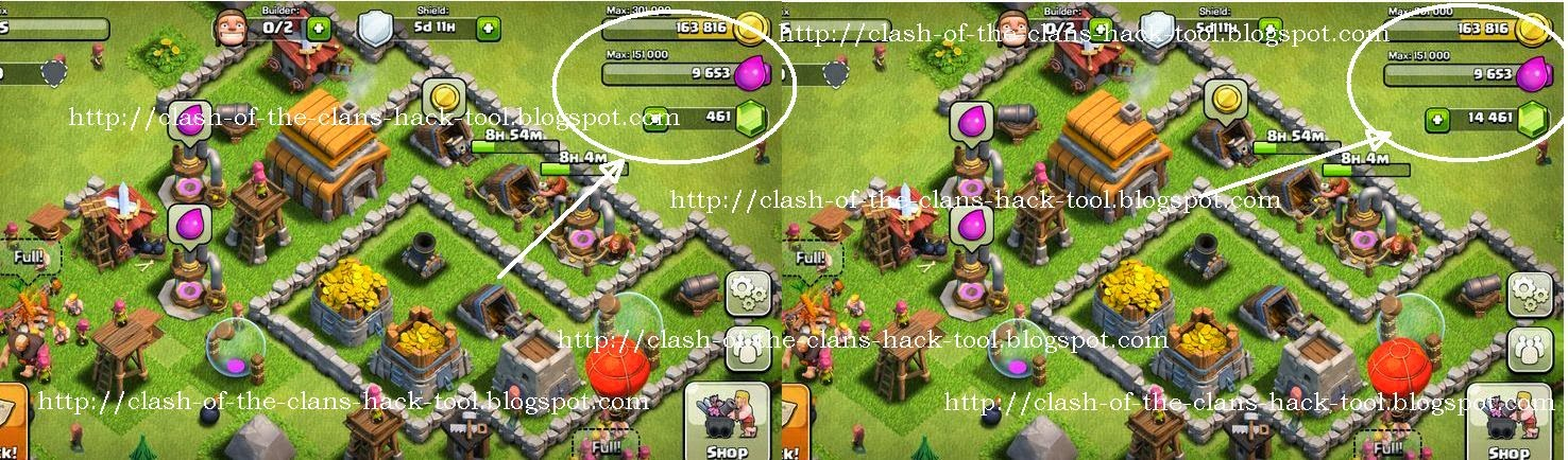 Clash Of Clans Hack Tool - Free 14000 Gems