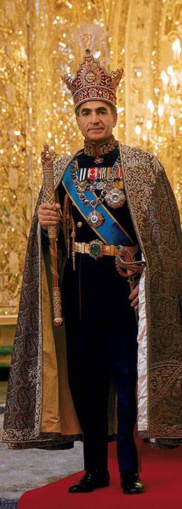 Mohammad pahlavi coronation iran earth for Shah bano farah pahlavi