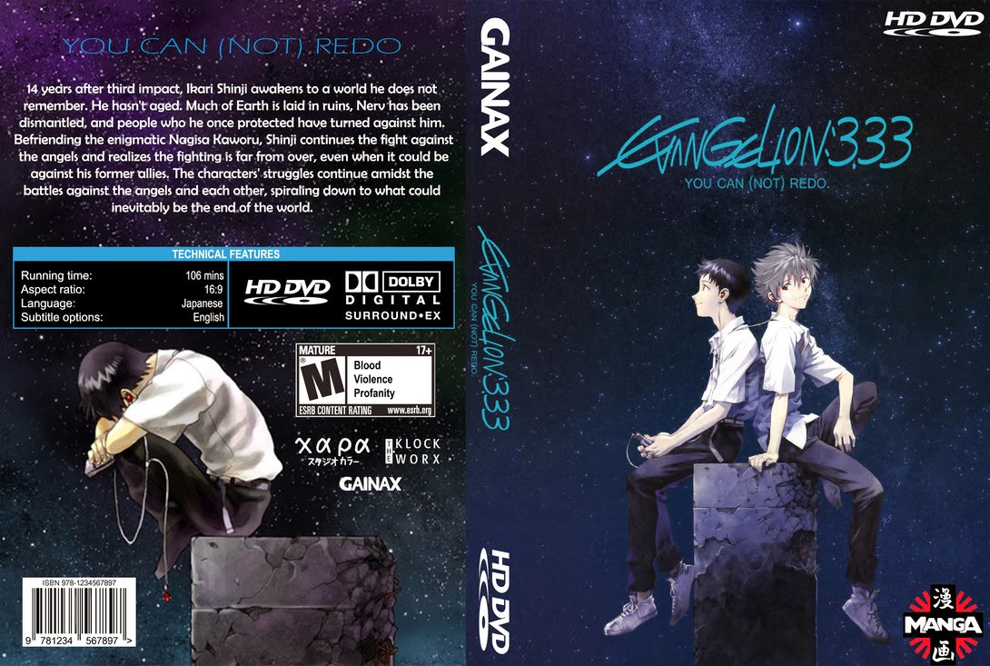 Evangelion 3.33 You Can (Not) Redo [1/1][400 Mb][Pelicula][Jap]
