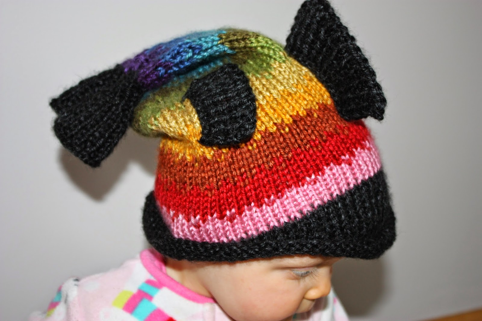 Kids Knit Hats: Kid Size Dead Fish Hat Pattern