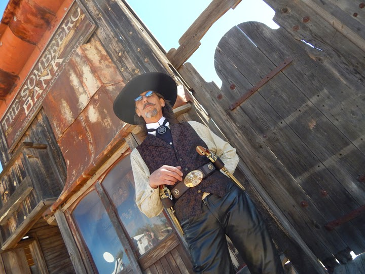 Cowboy at Old Tucson Studios